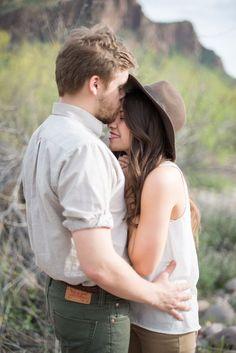 Arizona Dry Lake Love Shoot by Charity Maurer - via inspiredbythis