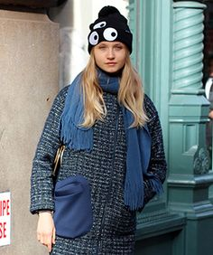 The Street-Style Snap That Left Us All Googly Eyed