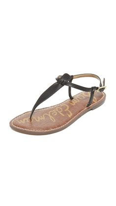SAM EDELMAN Gigi Flat Sandals. #samedelman #shoes #sandals