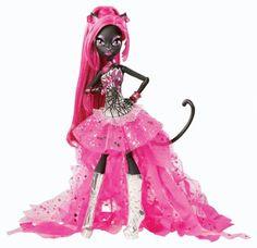 NEW, Monster High Ghoul CATTY NOIR Concert Doll, RARE 2013!! Daughter Of Werecat