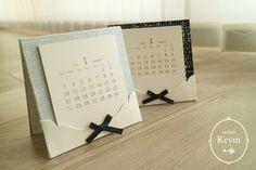 ツイード生地で作るカレンダー  クラフト好きな女性のための カルトナージュ教室:東京稲城