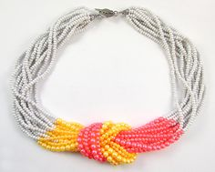 Two Ways to Finish a Multi Strand Seed Bead Necklace | Loose Ends