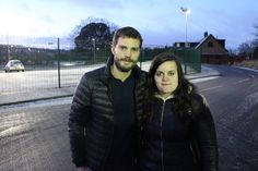 Jamie Dornan and a lucky fan in Belfast January 15, 2016 http://www.everythingjamiedornan.com/gallery/thumbnails.php?album=36 http://www.facebook.com/everythingjamiedornan