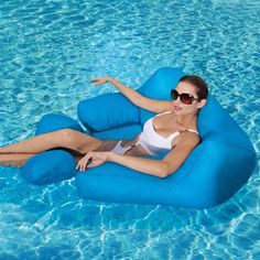 Recliner in the water - yes please.  $69.99