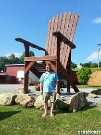 Blairsville, GA - World's Largest Amish Chair. Northern Georgia. Add to apple picking trip.