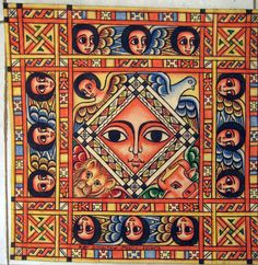 Painting from Ethiopia.