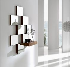 Fabulous Tips and Tricks: Hanging Wall Mirror Diy Projects circle wall mirror frames. Classic Wall Mirrors, Tall Wall Mirrors, Oversized Wall Mirrors, Lighted Wall Mirror, Rustic Wall Mirrors, Living Room Mirrors, Hallway Mirror, Mirror House, Mirror Bedroom