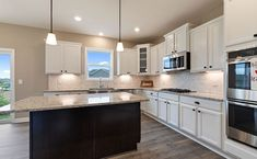How would you like to spend Saturday morning in this stunning kitchen? New Home Communities, Love Your Home, New Homes For Sale, Saturday Morning, Minneapolis, Building A House, Kitchen Cabinets, Home Decor, Decoration Home
