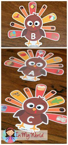 Thanksgiving Preschool Centers - In My World