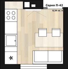 Советы по планированию квадратной кухни
