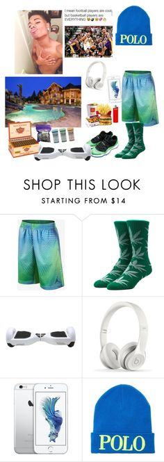 """Ootn>Saint"" by dimples-pay ❤ liked on Polyvore featuring HUF, Beats by Dr. Dre, Polo Ralph Lauren, INC International Concepts, royalmisfits and hesaint"