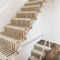This #staircase is so unique and one of my favourites I've seen  #stairs #stair #wood #woodwork #woodworking #wooden #carpentry #carpenter #joinery #design #powertools #tools #festool #festoolfan #festooluk #homedecor #housedecor