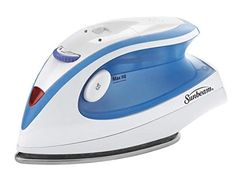 Travel Iron Steam Electric Sunbeam Portable Compact Mini Iron Dual Voltage for sale online Steam Iron Reviews, Best Steam Iron, Best Iron, Iron Steamer, Mini Iron, Applique, Ironing Board Covers, How To Iron Clothes, Cheap Clothes