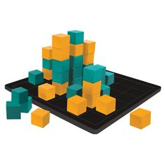 Kewbz™ | The player to top the most towers with their colored cubes may end up the winner, but don't count your blocks before they are tallied. By stacking your cubes into corner-shaped units and then building on top for point and glory, building blocks have never seemed so much fun.