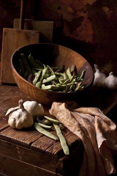 green beans & garlic (photo by El Oso con Botas)