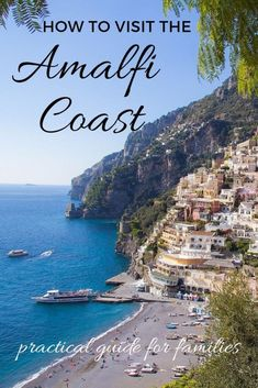Tips for visiting the Amalfi coast with kids - where to stay, what to see and how to get around Italy's Amalfi coast as a family Italy Destinations, Best Of Italy, Visit Italy, Amalfi Coast, Italy Travel, Cool Places To Visit, Family Travel, Travel Photos, Travel Inspiration