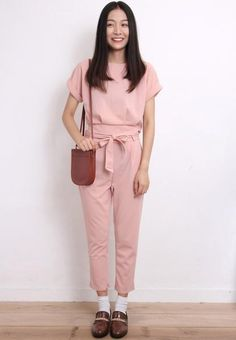 Cropped Top + Tied Pants Co-Ords
