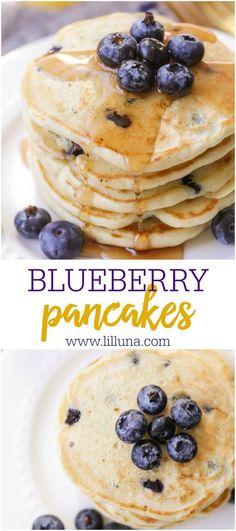 BEST Blueberry Pancakes