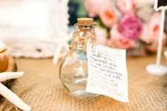 This is such a cute idea for a rainy wedding day!!!!! The rain water was collected in a bottle * ☔️雨の日の結婚式の思い出。その日の雨をボトルに詰めて。 * #rainywedding #rainyweddingidea #cutegift #maifotography #wedding #virginiabeach #hrva #vabeachphotographer #virginiabeachphotographer #IGersJP #shootandshare #rocktheshot #raininabottle