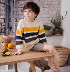 Laine Katia, Kids Photography Boys, Catalogue, Diy Clothes, Boy Outfits, Lana, Sewing Crafts, Men Sweater, Hipster