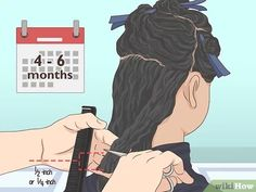 3 Ways to Follow the Curly Girl Method for Curly Hair - wikiHow Make Hair Curly, Curly Hair Tips, How To Make Hair, Wavy Hair, Red Hair, Curly Hair Styles, Pelo Afro, Hair Trim, Deva Curl
