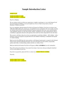 Business Introduction Letter Sample Whv Company Pdf  Home Design