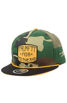 The Way of Life Trucker Hat in Camo by TRUKFIT Camo 5fc41300ebbd