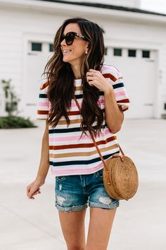 28 Ideas Style Jeans Summer Fashion For 2019 Spring Fashion Outfits, Spring Summer Fashion, Summer Outfits, Spring Style, College Outfits, Outfits For Teens, Trendy Outfits, Work Outfits, Grunge Outfits