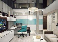 Bedroom bright apartment — studio.