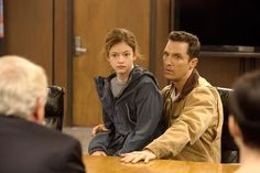 Pin for Later: Hot Dads: Celebrate Father's Day With the Cutest Film Fathers Matthew McConaughey in Interstellar