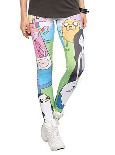 GEEK FASHION / Adventure Time Character Leggings Pre-Order | Hot Topic
