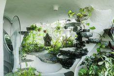 Garden room layout Garden Room The White Room Futuristic Home, Futuristic Architecture, Amazing Architecture, Interior Architecture, Interior And Exterior, Interior Design, Maison Earthship, Earthship Home, Decoration Inspiration
