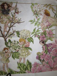 Flowerfairies counted cross-stitch