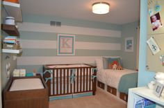1. i LOVE the color scheme. 2. I'm for SURE sticking a daybed in the nursery.