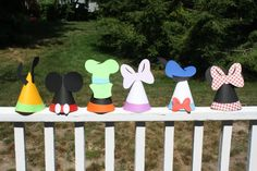 Mickey Mouse Clubhouse Party Hats on Etsy, $18.00