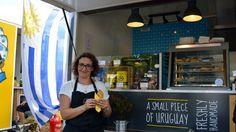 Con empanadas, alfajores y magdalenas, la uruguaya Mariana Luzardo, recorre los mercados más populares de Berlín; está asociada a la marca Uruguay Natural y planea tener un foodtruck de chivitos a corto plazo