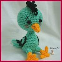 Diversidades: patrones gratis de crochet, amigurumi y manualidades: AVES AMIGURUMI