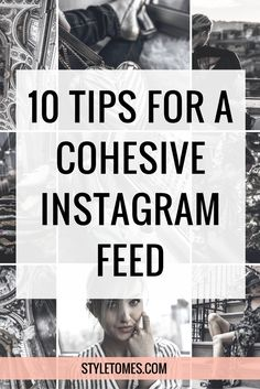 "10 Tips For a More Cohesive Instagram Feed My Instagram feed has gone through a lot of changes, and I'm finally happily trucking along with a theme. Building a theme for your Instagram is easier than you think.  There are a few things we'll go over: building a theme ""grid"", deciding on the shots you should incorporate, paying attention to the types of filters, choosing the rights colors, etc.  Read more behind the link…"
