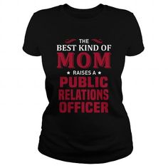 I Love Public Relations Officer T shirt