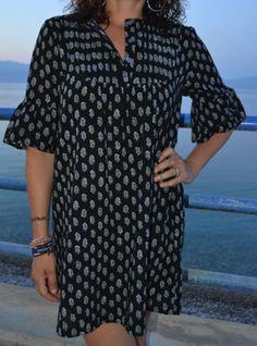 Mia Tunic Pattern - Patterns - Tessuti Fabrics - Online Fabric Store - Cotton, Linen, Silk, Bridal & more