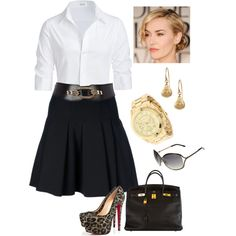 """Untitled #87"" by susanapereira on Polyvore....simple elegance"