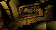 "The Cinematography of ""Delicatessen"" Cinematographer: Darius Khondji Darius Khondji, Film Recommendations, Film Grab, Film Inspiration, Pre Production, Ghost In The Shell, Film Stills, Feature Film, Cinematography"