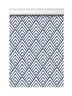 A-Street Vertex Diamond Geometric wallpaper, $70 for a single roll, brewsterwallcovering.com for stores