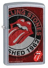 A Zippo lighter with a bare metal, street Chrome, classic case, finished with a rolling stones 1962 design. This lighter requires fluid fuel. The lighter is supplied unfueled for safety during shipping. Tongue Images, Environmentally Friendly Gifts, Rolling Stones Logo, Giving Up Smoking, Pocket Light, Zippo Lighter, Rock N Roll, Shed, Street