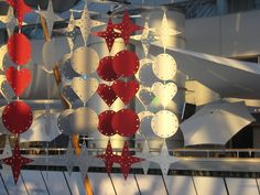 Sky City Stockholm Arlanda Airport. Christmasdecoration