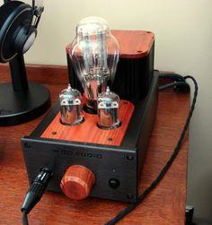 Best looking tube amp Valve Amplifier, Audio Amplifier, Audio Speakers, Audiophile, Radio Design, Headphone Amp, Hifi Stereo, Vacuum Tube, Digital Audio