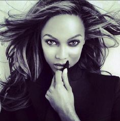 Tyra Banks channels top white model friends