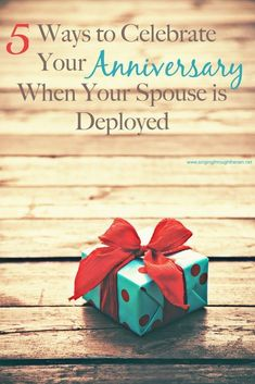 5 Ways to Celebrate Your Anniversary When Your Spouse is Deployed Military Marriage, Military Deployment, Military Couples, Military Girlfriend, Military Love, Army Love, Military Families, Military Relationships, Distance Relationships