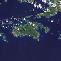 St. John, U.S. Virgin Islands, satellite view