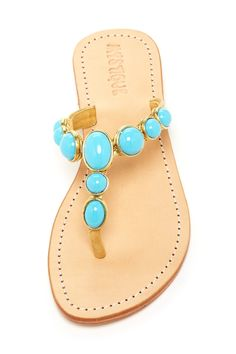 Polished Stone Sandal